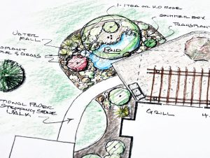 Landscape Design Sketch